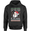 Ask Your Mom If Santa Is Real Ugly Christmas Adult Hoodie Sweatshirt