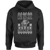 Merry Christmas B-tches Ugly Christmas Adult Hoodie Sweatshirt