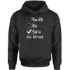 Naughty, Nice, Epstein Didn't Kill Himself Adult Hoodie Sweatshirt