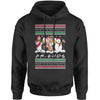 Friends Christmas Drinking Party Ugly Christmas Adult Hoodie Sweatshirt