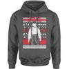 Let's Get Strange Ugly Christmas Adult Hoodie Sweatshirt