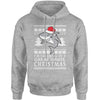 Dreaming Of A Great White Christmas Adult Hoodie Sweatshirt