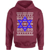 Jewish Star Of David Ugly Hanukkha Adult Hoodie Sweatshirt