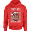 Wonder Why Christmas Missed Us Ugly Christmas Adult Hoodie Sweatshirt