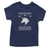Unicorn Ugly Christmas Youth T-shirt