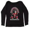 Christmas Is Coming GoT Ugly Christmas Slouchy Off Shoulder Oversized Sweatshirt