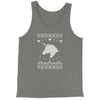 Unicorn Ugly Christmas Jersey Tank Top for Men