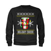 Holiday Cheer Red Cup Ugly Christmas Youth-Sized Crewneck Sweatshirt