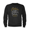 Christmas Is Too Sparkly, Said No One Ever Youth-Sized Crewneck Sweatshirt