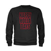 Happy Holla Days Happy Holidays Christmas  Youth-Sized Crewneck Sweatshirt