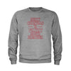 Merry Christmas Ya Filthy Mouth Breather Youth-Sized Crewneck Sweatshirt