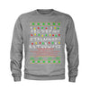 Strange Merry Christmas Ugly Holiday Youth-Sized Crewneck Sweatshirt