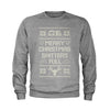 Merry Christmas Sh-tter's Full Ugly Christmas Youth-Sized Crewneck Sweatshirt