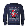 Here Comes Santa Floss Ugly Christmas Youth-Sized Crewneck Sweatshirt