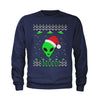 Aliens I Believe in Area 51 Youth-Sized Crewneck Sweatshirt