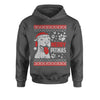 Merry Pitmas Pitbull Ugly Christmas Holiday  Youth-Sized Hoodie