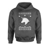 Unicorn Ugly Christmas Youth-Sized Hoodie