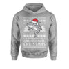 Dreaming Of A Great White Christmas Youth-Sized Hoodie