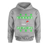 Dachshund Through The Snow Ugly Christmas Youth-Sized Hoodie