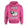 Sheep Fleece Navidad Ugly Christmas Youth-Sized Hoodie