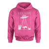 UFO Believe - Unicorn Beam Me Up Youth-Sized Hoodie