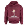 Fragile Leg Lamp Christmas Story Youth-Sized Hoodie