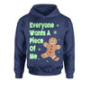 Everyone Wants A Piece Of Me Gingerbread Youth-Sized Hoodie