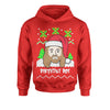 Jesus Birthday Boy Ugly Christmas Youth-Sized Hoodie