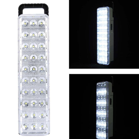 60 LED Emergency Light Lamp For Home Camp Outdoor Waterproof 30 LED Multi Function Rechargeable Flashlight