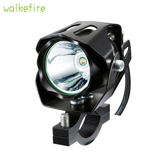 Fog Headlight Bicycle Front Head Light Spot Light Bike Handlebar Light