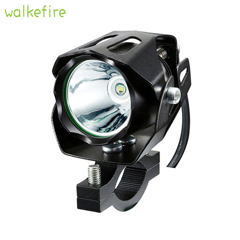 Fog Headlight Bicycle Front Head Light Bike Handlebar Spot Flashlight Headlamp