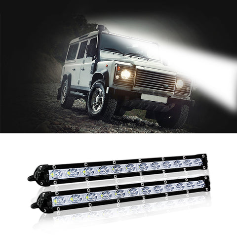 Spotlight 12 volt Auto Lights Trailer Tractors ATV 1 Pc 4X4 LED Work Light