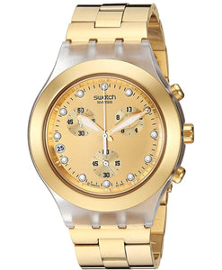 Swiss Made High Quality Original Full-Blooded  Gold Women Watch