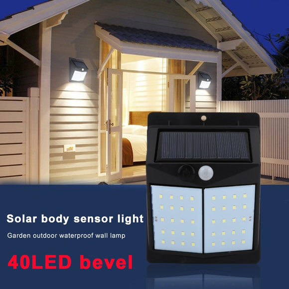 Home Outdoor Flashlight Room Lighting Motion Sensor Solar Energy-saving Wall lighting equipment