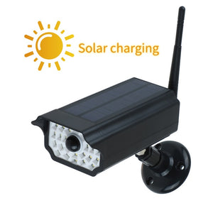 Waterproof Dummy Fake Camera Solar Power Simulation Camera With LED light Security Surveillance