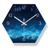 Modern Desing Abstract Style Big Wall Clock