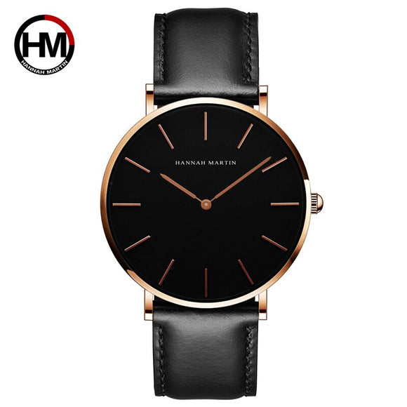 Slim Simple Unisex Wristwatch Fashion Brand Sport Casual Waterproof Watches relogio masculino