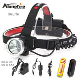 2000LM Headlight Flashlight Torch Lantern
