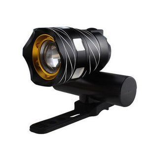 Rechargeable XML T6 USB LED Bicycle Bike Light Front Cycling Light Head Lamp