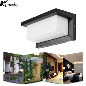 15W Outdoor Lighting Waterproof  Modern LED Aluminum Wall Lamps