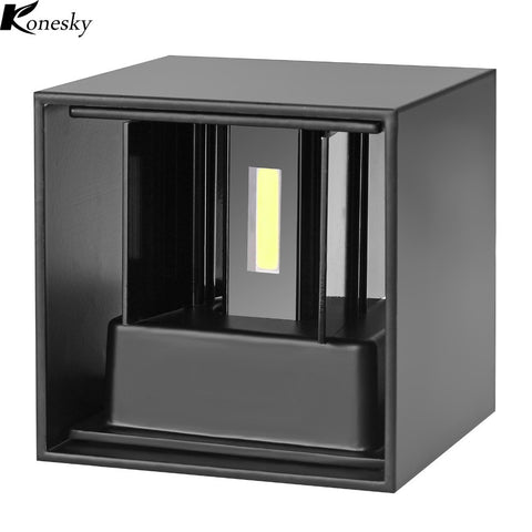 Home Lighting Indoor Aluminum Wedge Base LED Wall Lamp