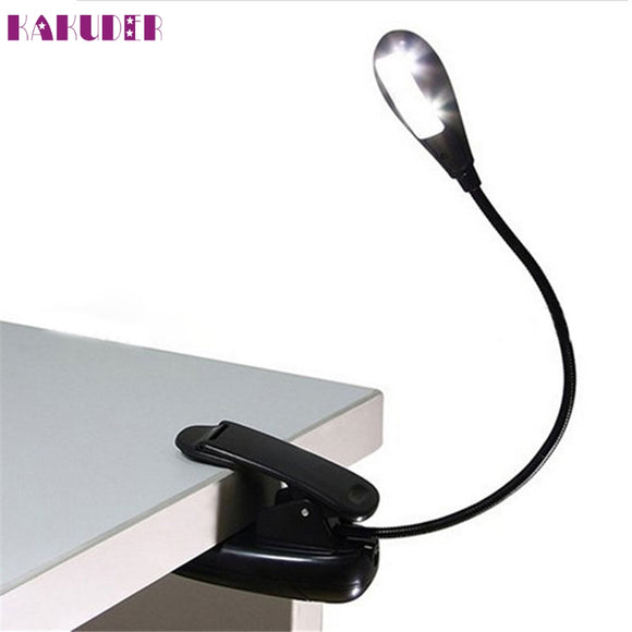 LED Stand Reading Lamp Book Clip On Lamp