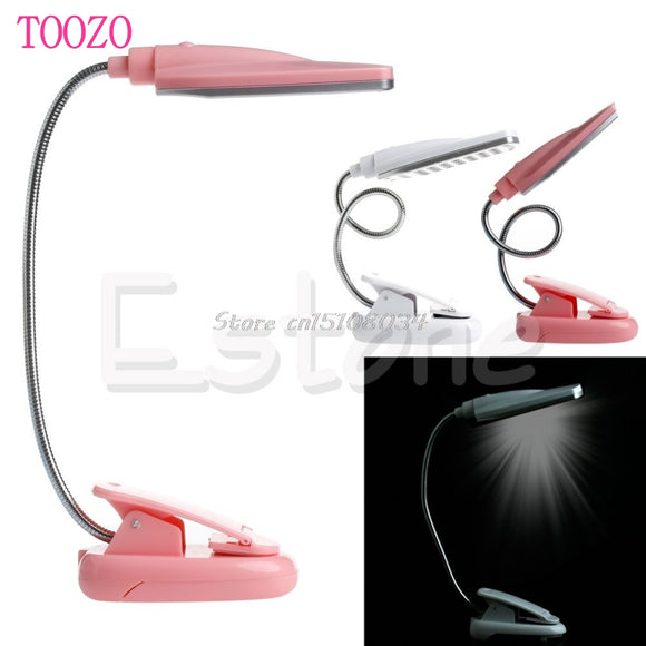 New Flexible USB 28 LED Light Clip On Bed Table Desk Lamp Reading light #S018Y#