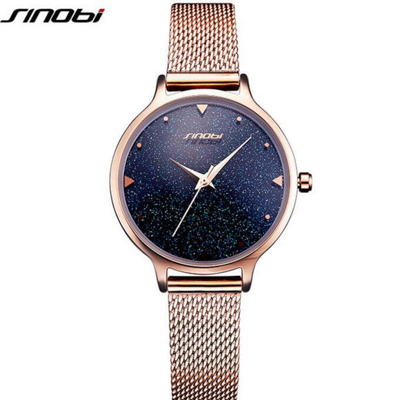 Love Love Love This Shiny Starry Sky Women Watch
