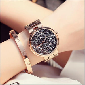 Diamond Watch Fashion Shiny Diamond Ladies Watch