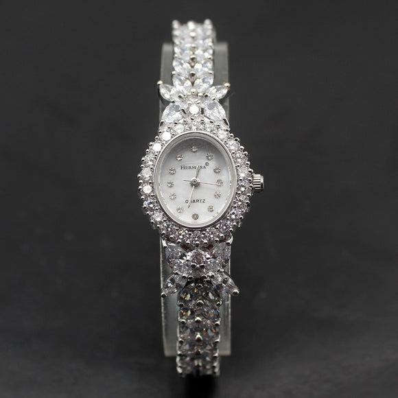 Japanese Style Quartz Movement Jewelry Bracelet Women Watch