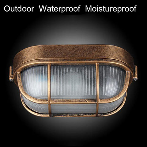 Ceiling Lamp Vintage Waterproof  Outdoor Wall & Porch Lighting