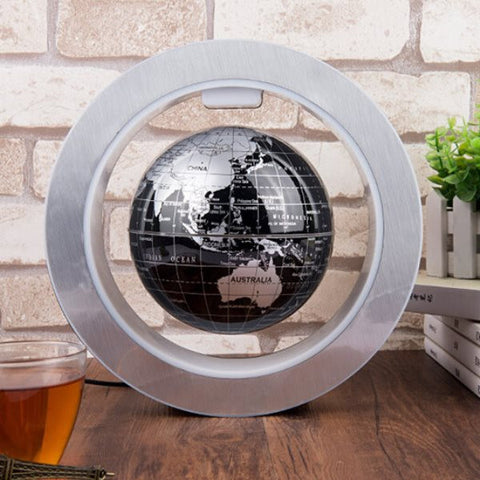 World Map Globe Home Anti Gravity Desk Top LED Light Lamp