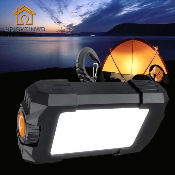 Portable 27 LEDs Lamp 500LM Flasher With USB Interface 10W Rechargeable Flashlight Lantern