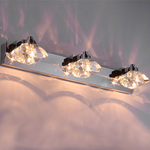 Crystal Bathroom Wall Lamp Corridor Wall Lighting Fixtures